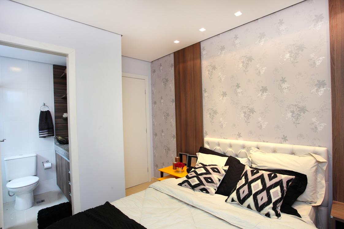 M Veis Planejados Para Apartamento Village Royale M Veis  ~ Quarto De Casal Planejado De Apartamento Pequeno